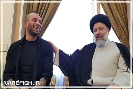 دانلود کلیپ دیدار امیر تتلو با سید ابراهیم رئیسی + فیلم