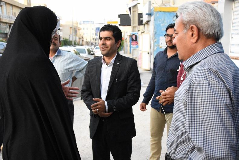 بازدید نماینده جنوب بوشهر از ستادهای تبلیغاتی شهرجم