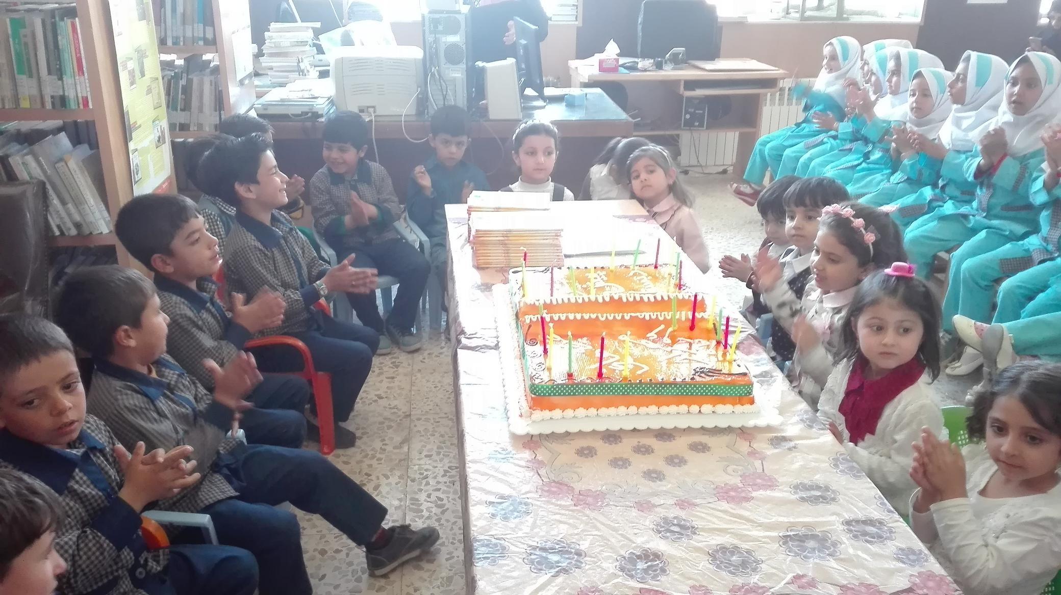 جشن اعیاد شعبانیه در محل کتابخانه عمومی حکیم زهراوی کرسف