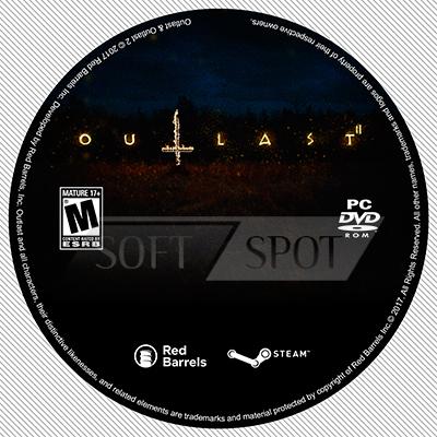 لیبل دیسک Outlast 2