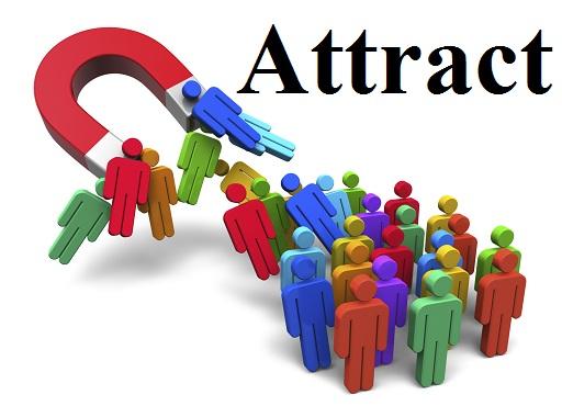 جذب کردن – Attract – آموزش لغات کتاب ۵٠۴ – English Vocabulary – کدینگ لغات ۵٠۴