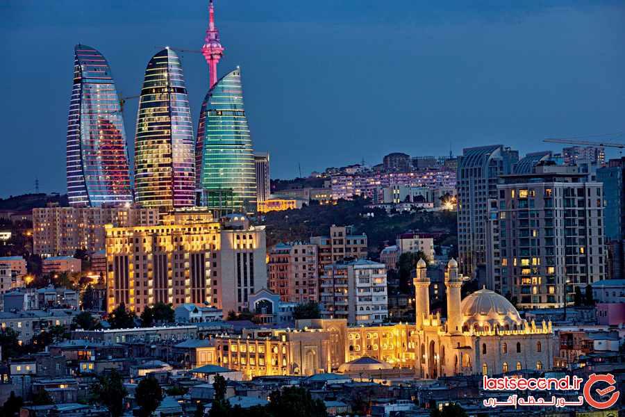 فضای شهری باکو