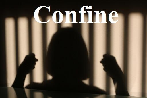 زندانی کردن – Confine – آموزش لغات کتاب ۵٠۴ – English Vocabulary – کدینگ لغات ۵٠۴