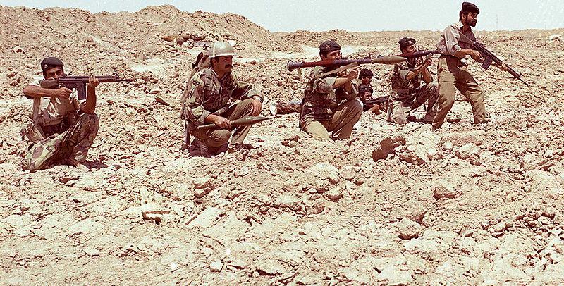 جنگ تحمیلی  - تکاوران نیروی دریایی ارتش عکس