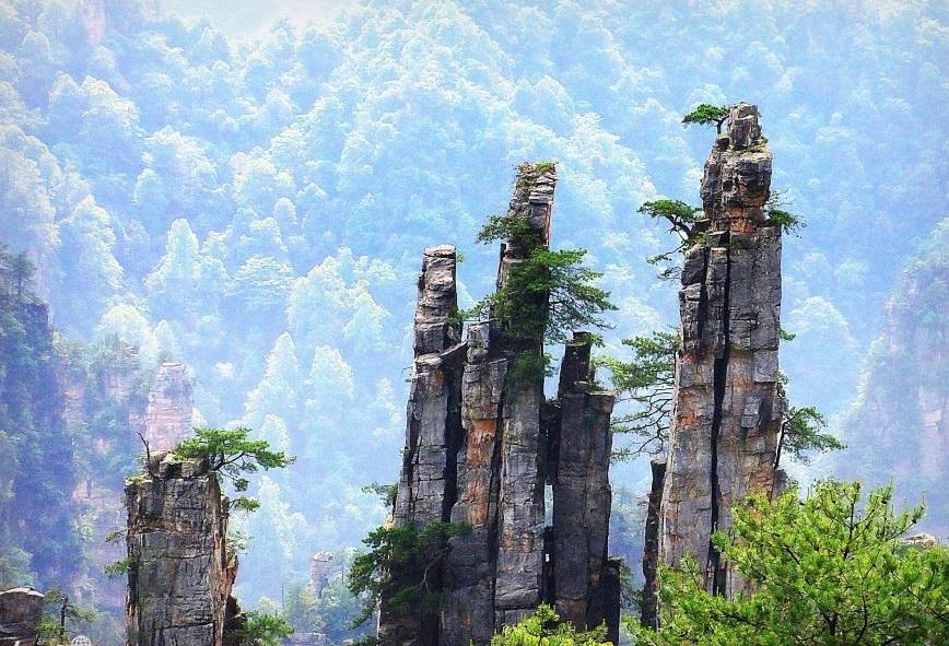 تور چین پارک ملی جیاجی