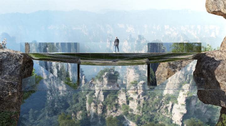 پل نامرئی چین