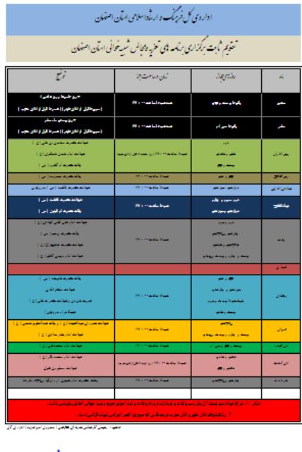 44477 - صدور8مجوزتعزیه خوانی به مناسبت رحلت امام خمینی (ره) درشهرستان فلاورجان
