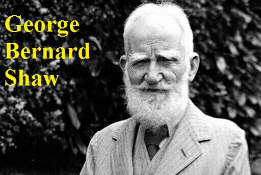 جرج برنارد شاو - George Bernard Shaw