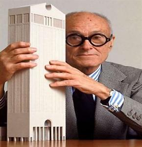 پاورپوینت فیلیپ جانسون معرفی اثار معماری
