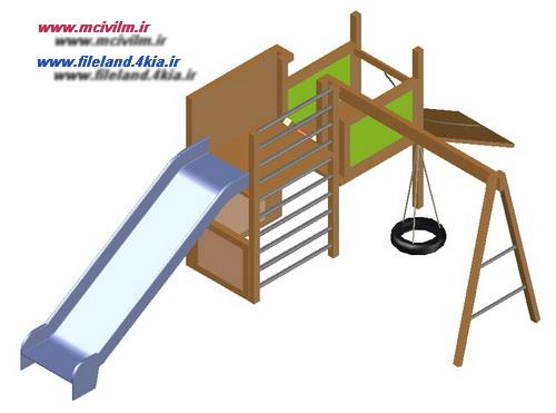 بلوک سه بعدی وسایل بازی کودکان