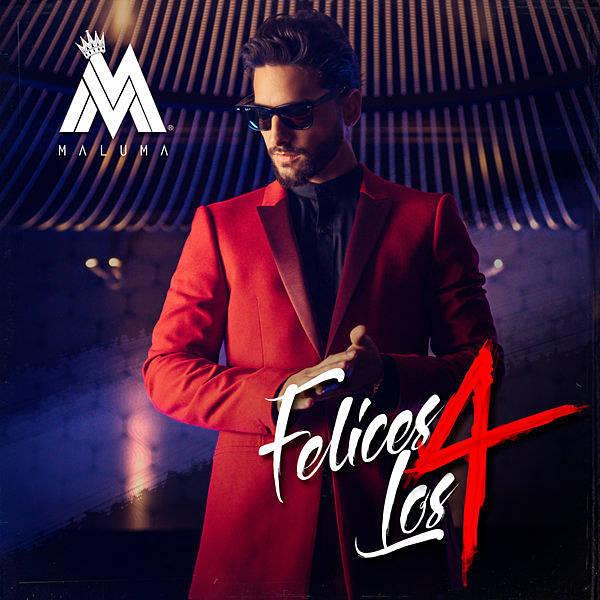 دانلود آهنگ اسپانیایی جدید maluma به نام felices los 4