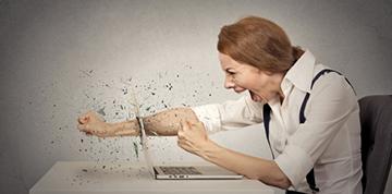 در هنگام عصبانیت از خالی کردن خشم خود بپرهیزید