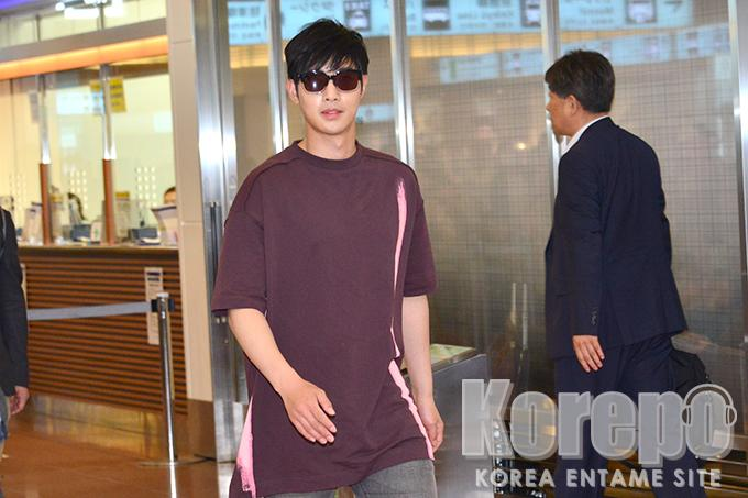 [Korepo Video+Photos] Kim Hyun Joong Arrival at Haneda [2017.06.05]