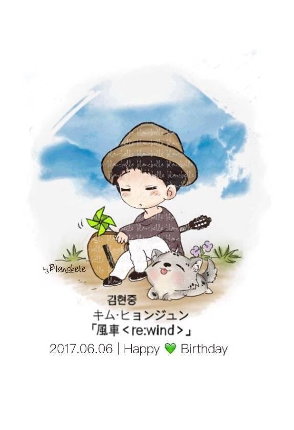 [blancbelle Fanart] Kim Hyun Joong - the re wind - 2017.06.06 Happy Birthday [2017.06.06]