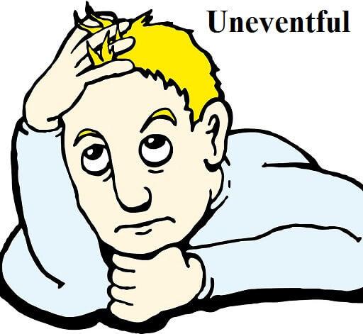 یکنواخت – Uneventful – آموزش لغات کتاب ۵٠۴ – English Vocabulary – کدینگ لغات ۵٠۴