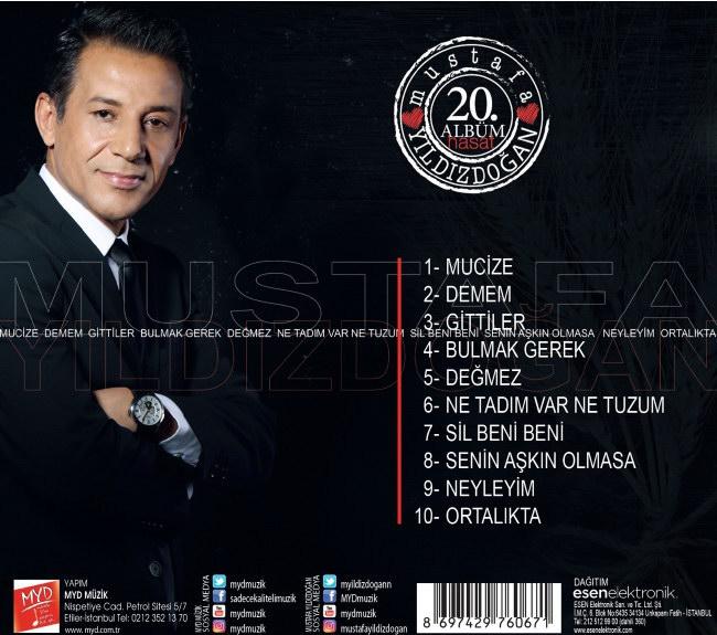 Mustafa Yıldızdoğan - Hasat (20. Albüm) [2017]