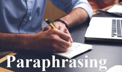 بازنویسی - Paraphrasing