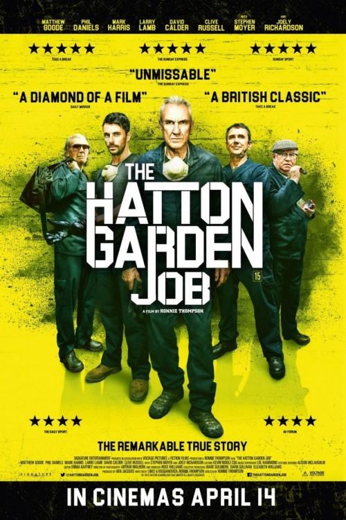 دانلود رایگان فیلم بسیار زیبای The Hatton Garden Job 2017