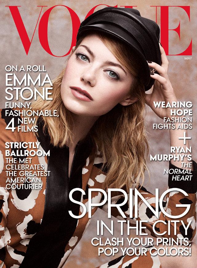 عکسهای اما استون emma_stone در مجله Vogue