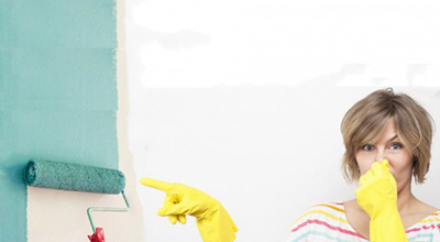 بوي رنگ در خانه را چگونه از بين ببريم