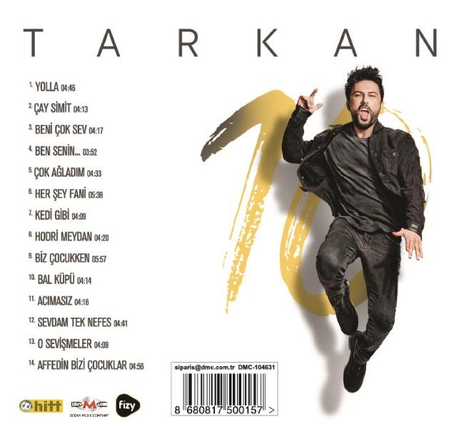 Tarkan - 10 (2017) Full Albüm