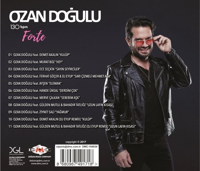 Ozan Doğulu - 130 BPM Forte [2017] Albüm