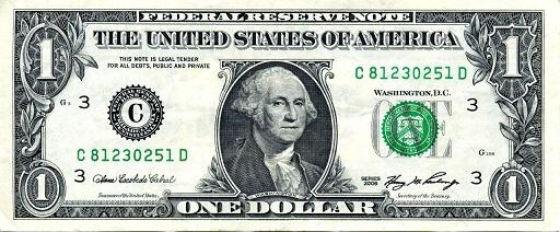 جرج واشنگتن - George Washington - دلار آمریکا - USD