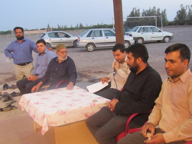برگزاری سفره افطار در جامعة القرآن الکریم شهید بهامین جعفرآباد نوق
