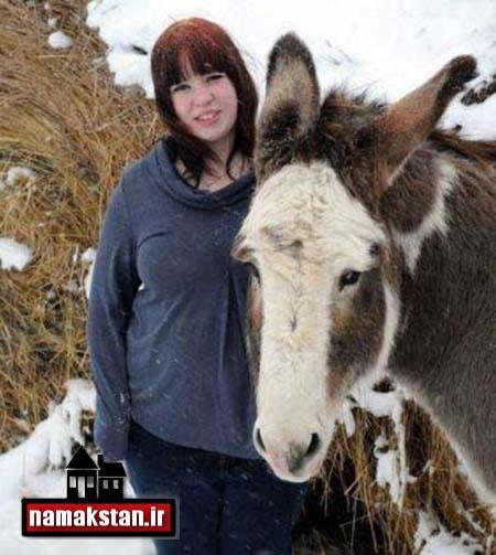 [عکس: Girl_Donkey_Photos_2.jpg]