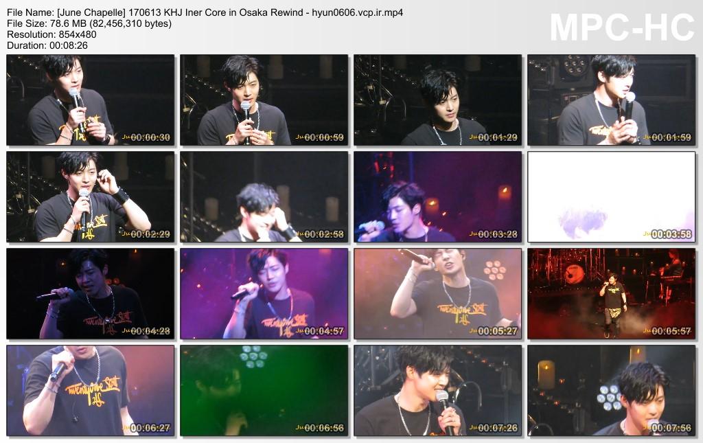 [Fancams] KHJ Inner Core Osaka at Orix Theatre [2017.06.13]