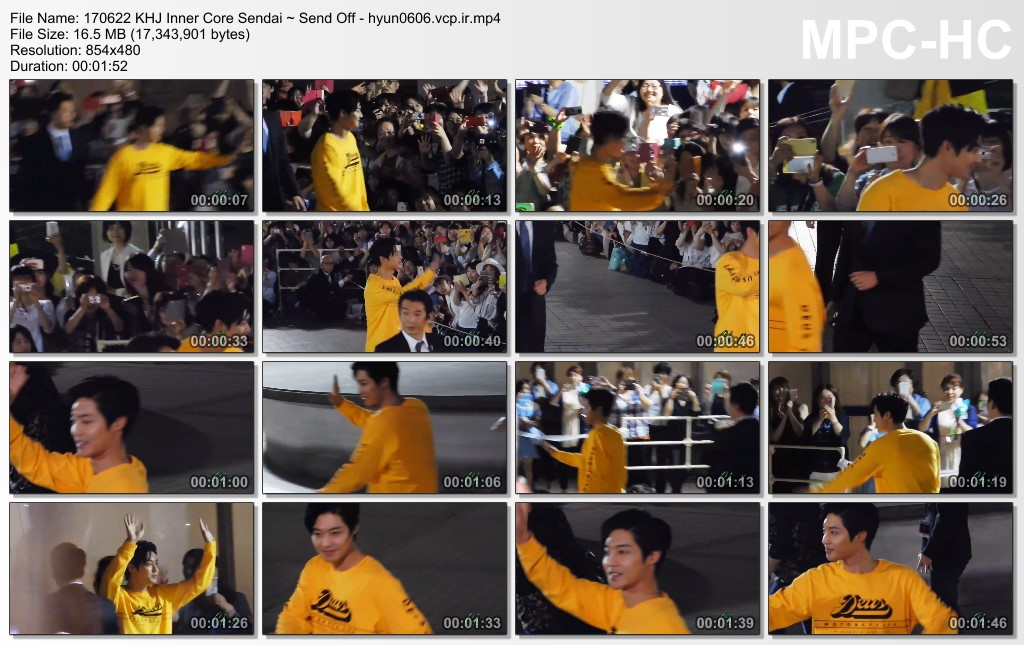 [Fancam] KHJ Japan Tour Inner Core Sendai Sun Plaza Hall [2017.06.22]
