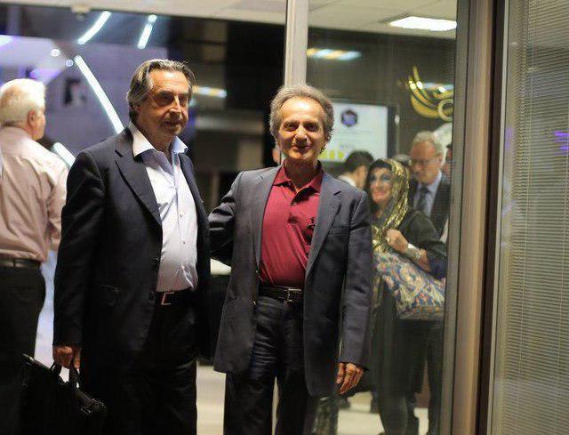 رهبر ارکستر سمفونیک تهران «ریکاردو موتی» به ایران وارد شد