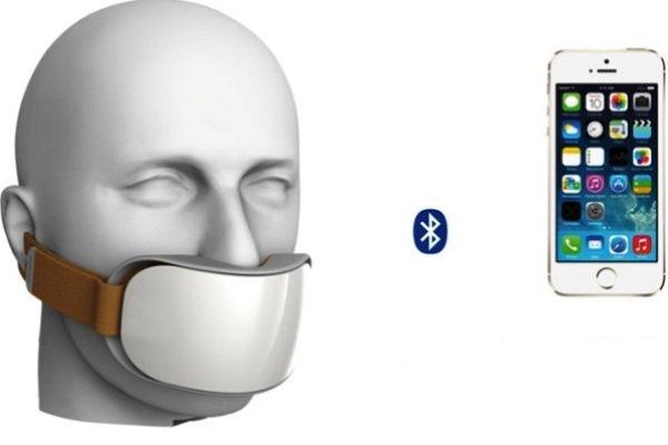 ماسک هوشمندی که می گوید چه زمانی نفس بکشید