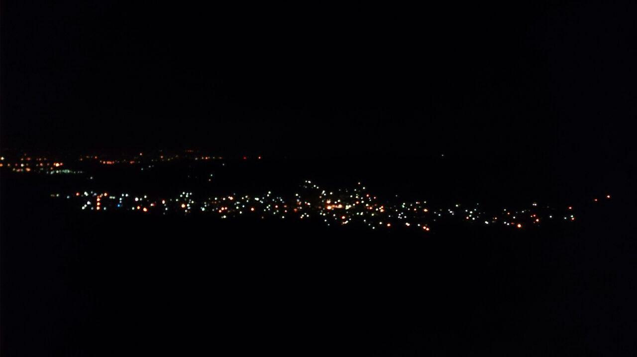 دارابکلا. شب 17 تیر 1396 از زایۀ یال غربی. عکاس: جناب یک دوست