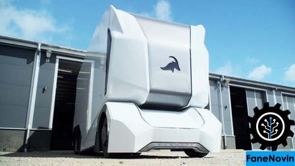 ترمیناتور به واقعیت پیوست؛ تی پاد، اولین کامیون رباتیک جهان