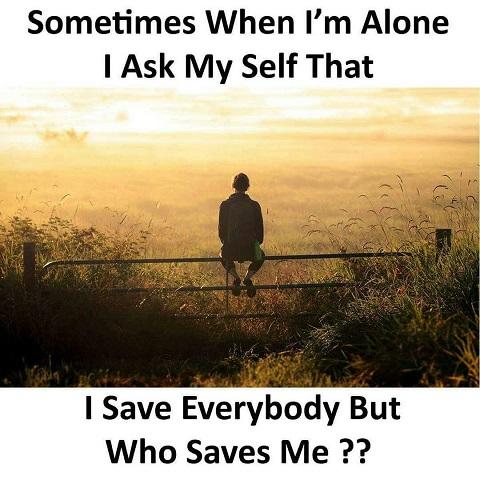 بعضی اوقات وقتی تنهام