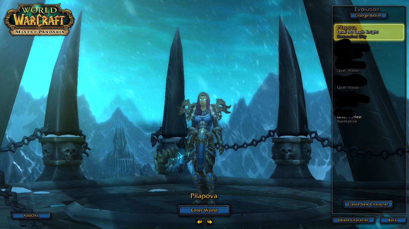 فروش هیرو Death Knight - pilapova - سرور WowZone