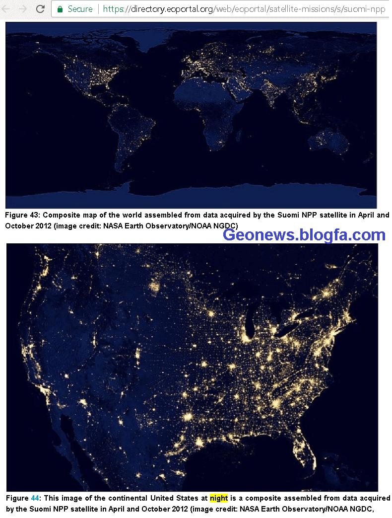 سنجش از دور+ماهواره های تصویربرداری+عکس ماهواره ای