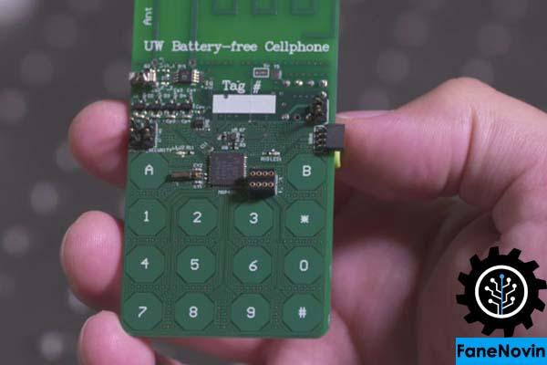 ساخت گوشی موبایل بدون نیاز به باتری