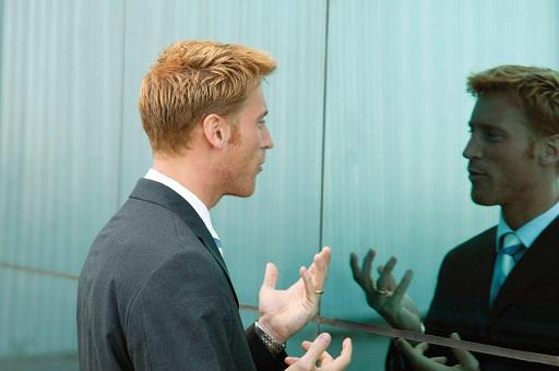 صحبت کردن در برابر آئینه - Mirror Talk