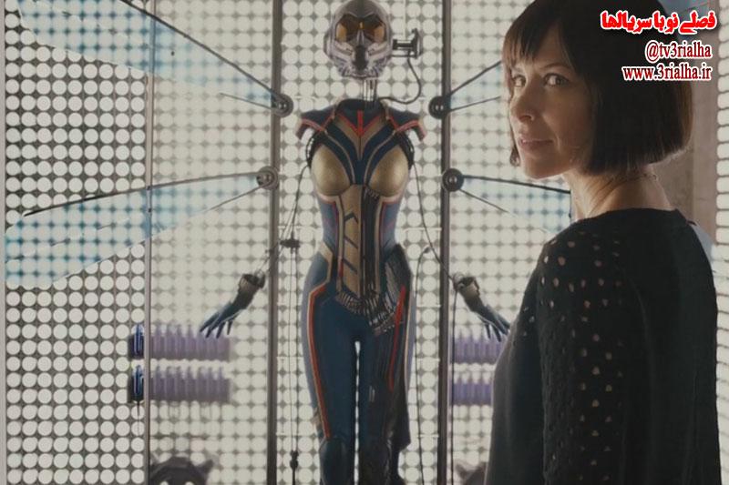انتشار اولین تصویر از لباس جدید شخصیت واسپ در فیلم Ant-Man and The Wasp