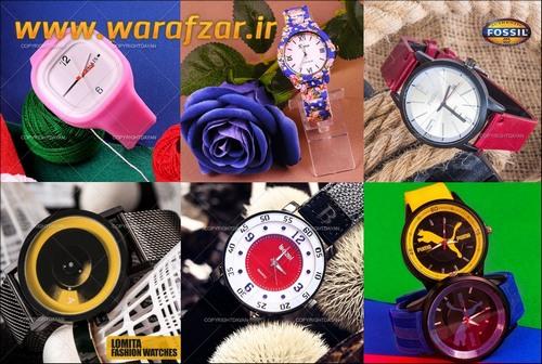 خرید ساعت های مچی با کیفیت فشن مردانه زنانه 2017