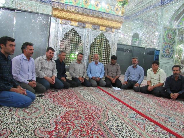 جلسه هماهنگی برگزاری مراسم صادقیه در آستان مقدس امامزاده سیدجلال الدین اشرف