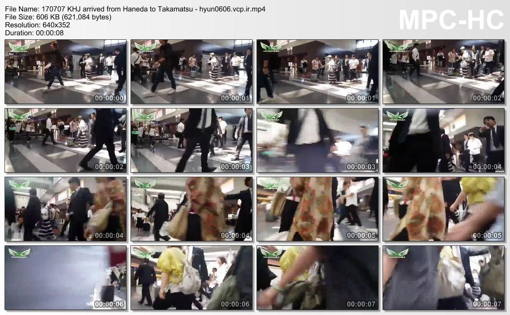 [Fancam+Fanpic] Kim Hyun Joong walked a little Takamatsu city [2017.07.07]