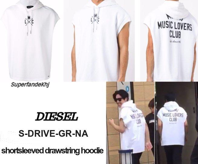 [Sponsor] KHJ Diesel Drive Short Sleeve Hoodie Men [2017.07.08]
