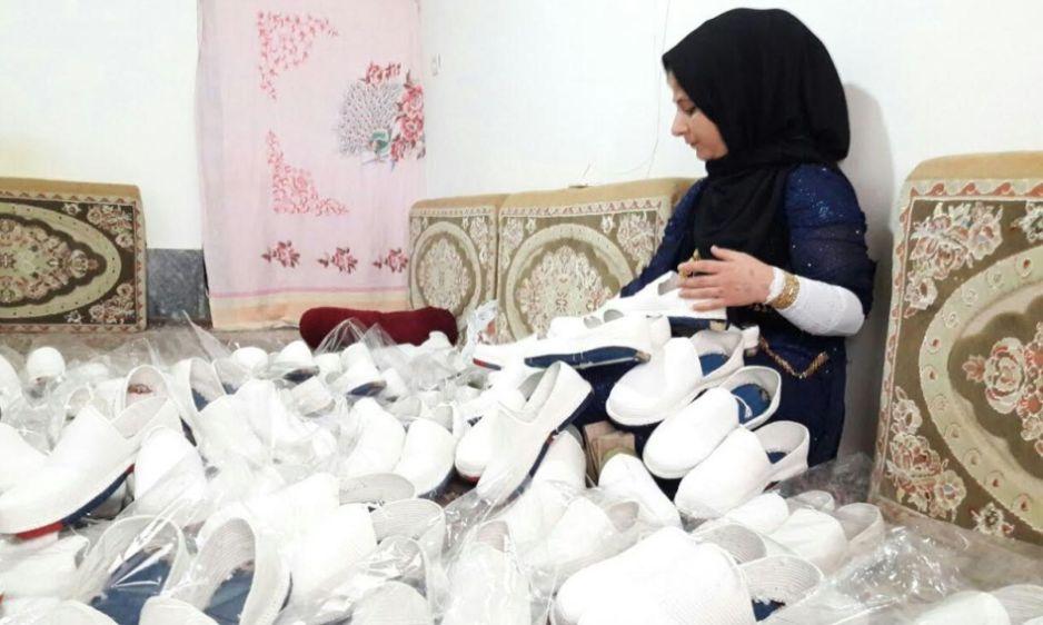 فرشته حسینی کارآفرین و مدیر تعاونی روستای میوان