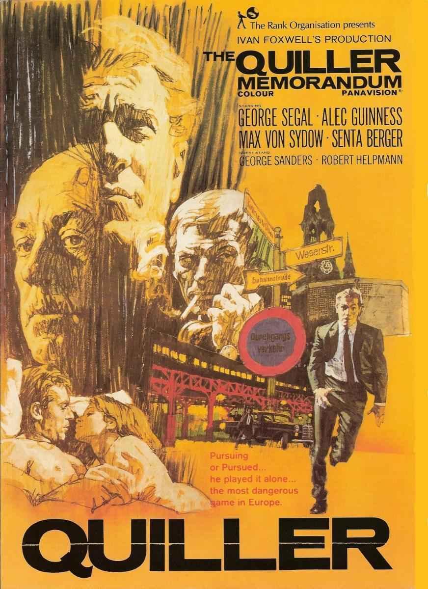 دانلود فیلم دوبله فارسی The Quiller Memorandum 1966