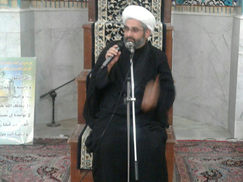 مراسم عزاداری شب  شهادت امام جعفرصادق (ع) در محله صادقیون رفسنجان  برگزار شد