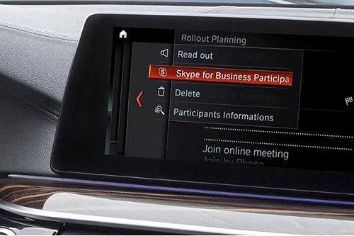 مایکروسافت با همکاری بی ام و، اسکایپ را در خودروها ارائه میکند