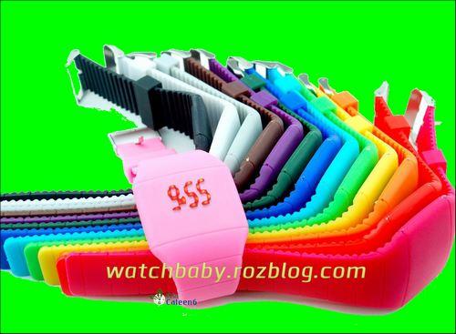 خرید آنلاین ساعت مچی ال ای دی لمسی با قیمت مناسب